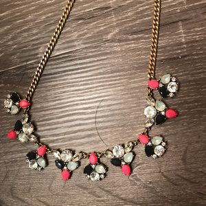J. Crew multicolor necklace